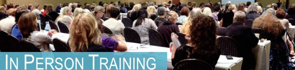 Enjoy a full classroom for in person training