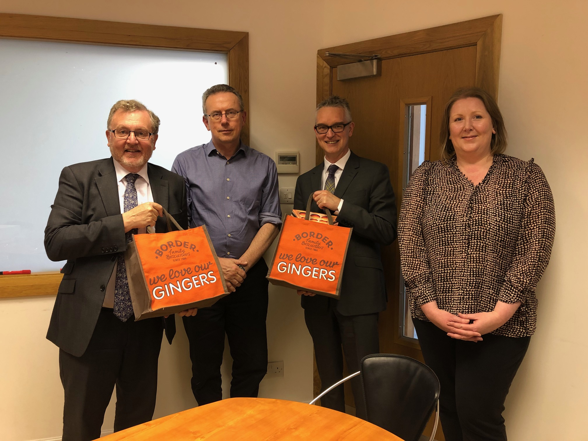 Border Biscuits with David Mundell MP