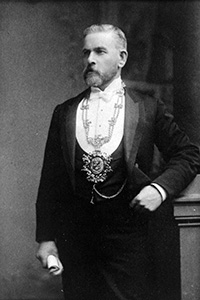 Past President, Robert Lyon, 1898