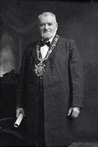 Past President, William Muirhead, 1901