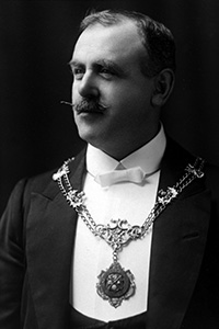 Past President, James Austin JP, 1910