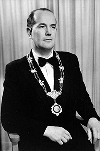 Past President, Alister Goodfellow, 1952-1953