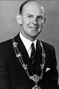 Past President, Norman E Hutchison, 1965-1966