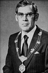 Past President, C L Ingram, 1974-1975