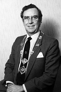 Past President, Rodger M Short, 1985-1986