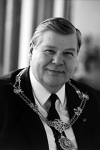 Past President, Norman J Stuart, 1991-1992