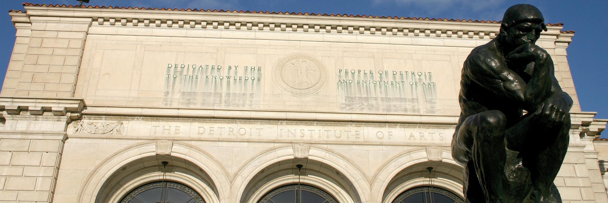 Detroit Institute of Arts. Photo by Bill Bowen. Courtesy of visitdetroit.com