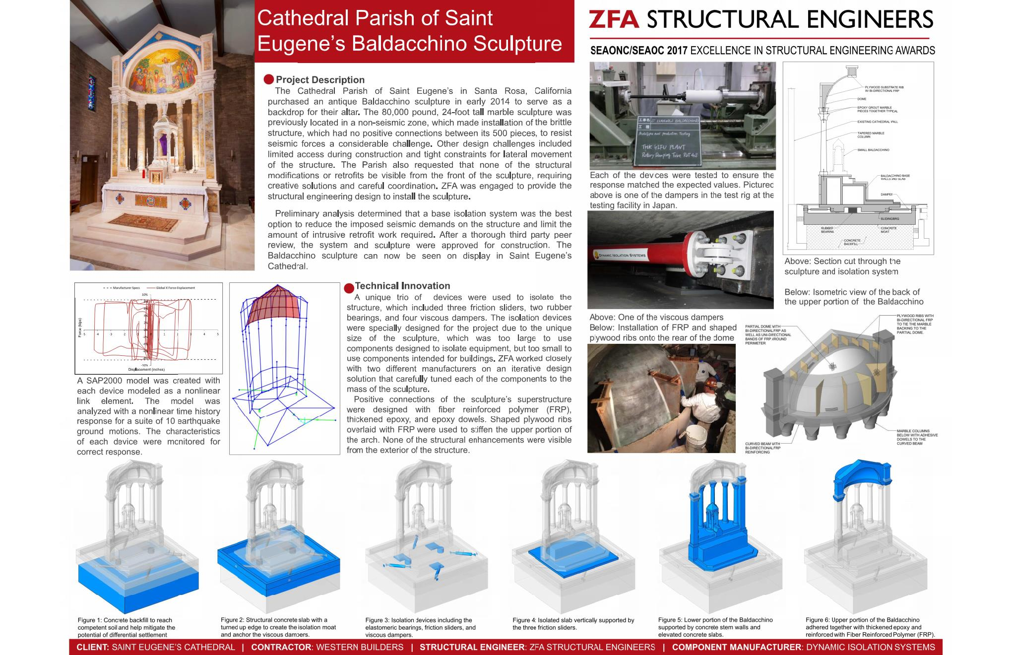 Excellence in the structural engineering analysis, design and/or  construction of a special-use project. Examples include non-building  structures, ...
