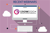 Grow2Gig+ Webinar: Case Study on County Digital Initiatives