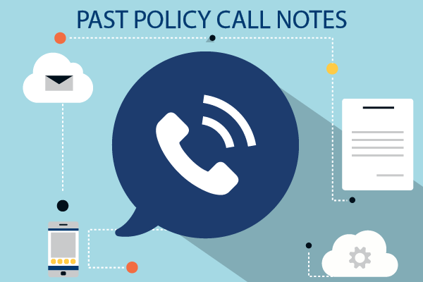 Past Policy Call Notes