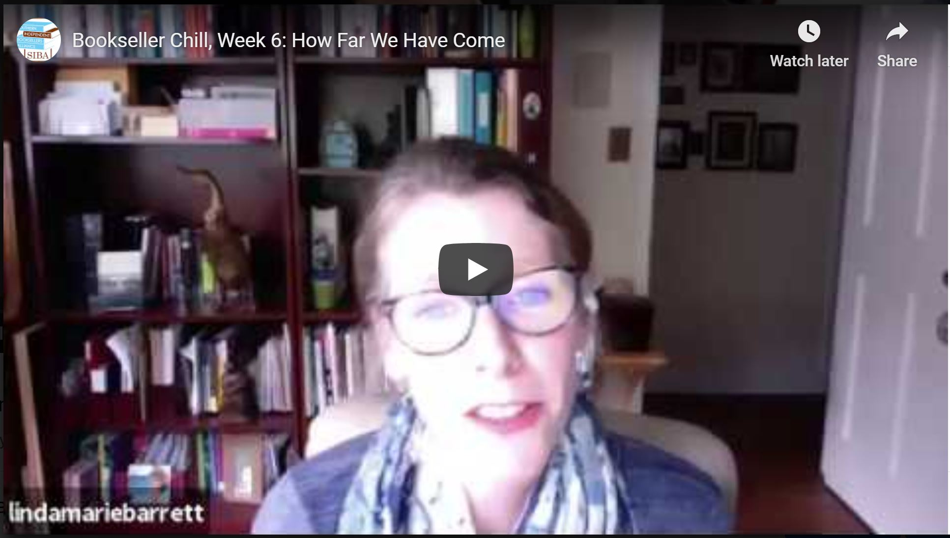 Bookseller Chill, Week 6: How Far We've Come