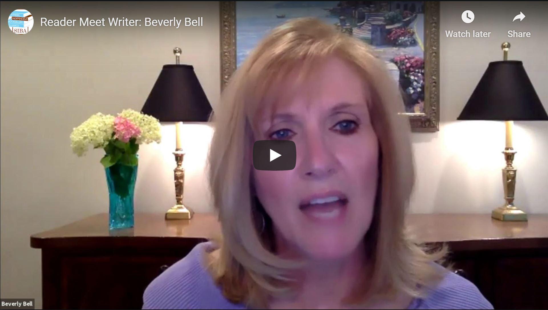 Reader Meet Writer:  Beverly Bell