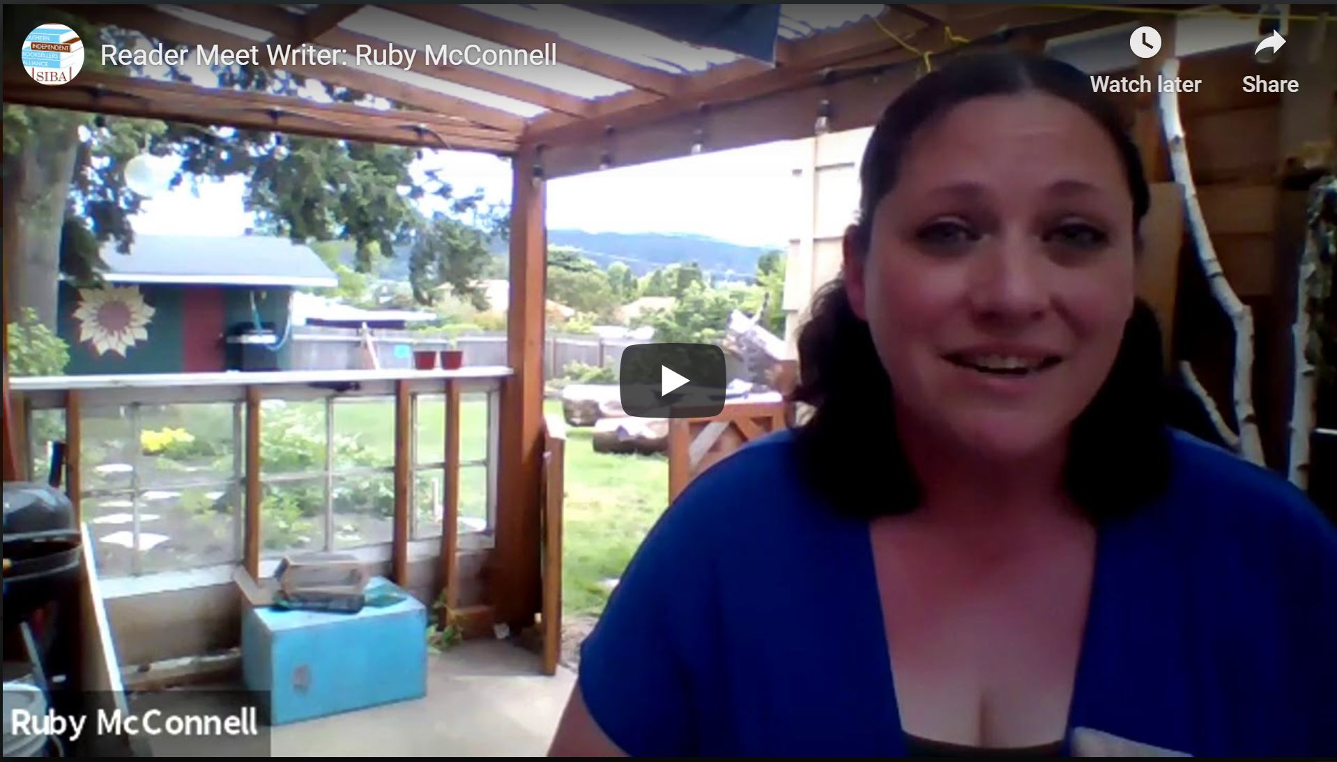 Reader Meet Writer: Ruby McConnell