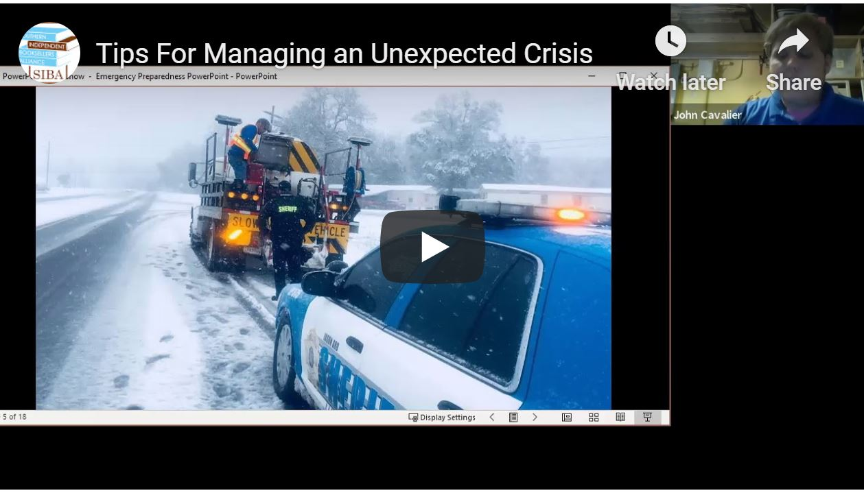 Tips for Managing an Unexpected Crisis