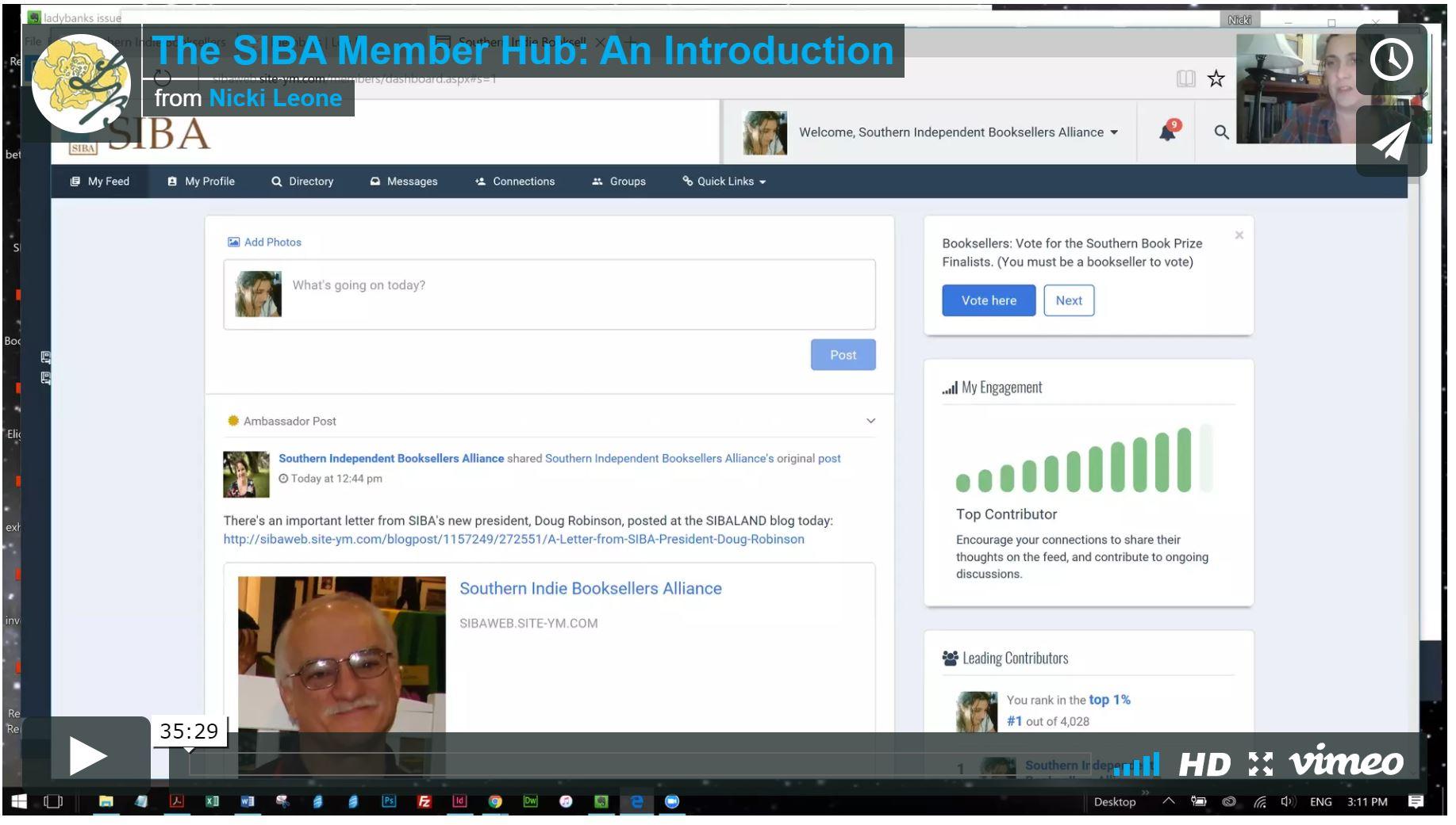 SIBA Member Hub Videos