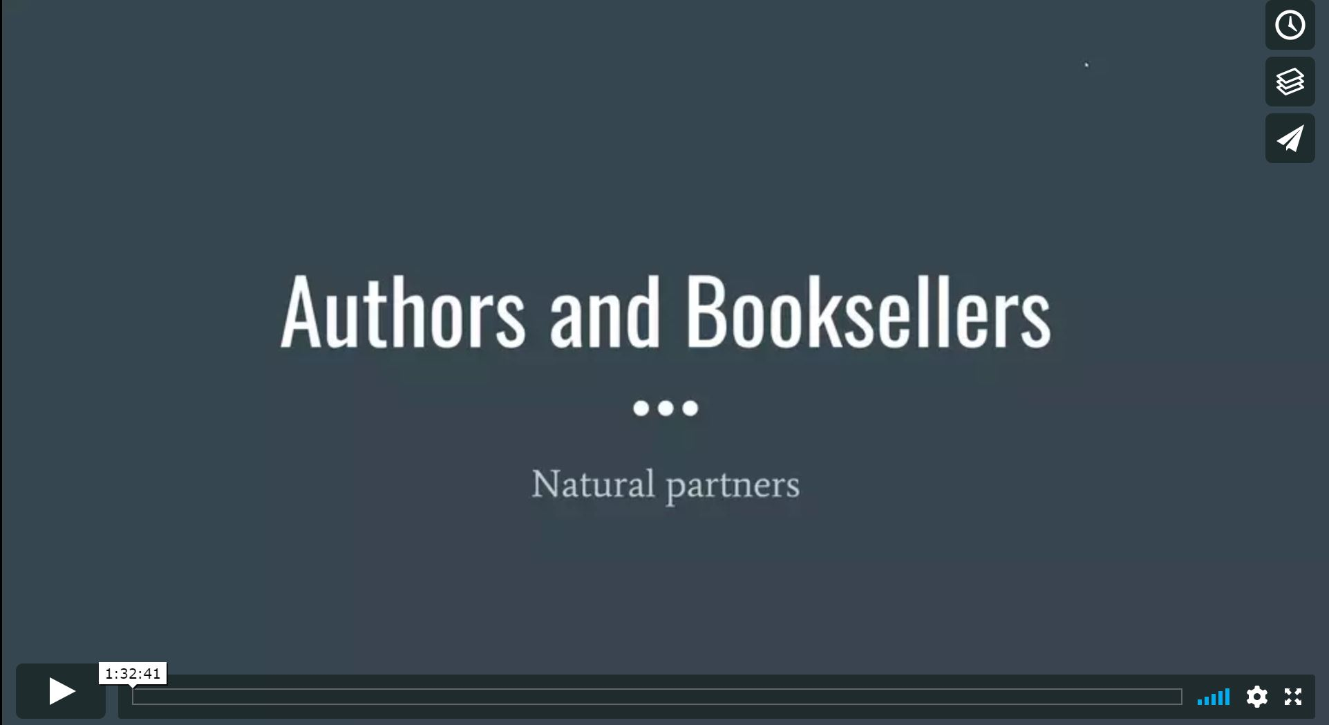 Authors & Booksellers: Natural Partners