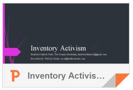 Inventory Activism