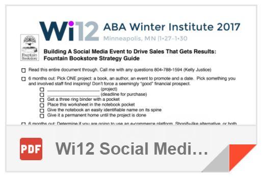 Wi12 Social Media Handout
