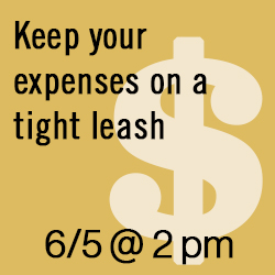 Keep Your Expenses on a Tight Leash