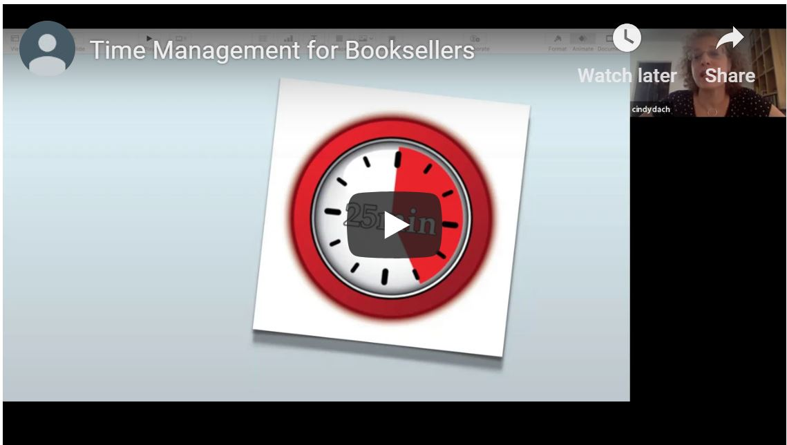 Time Management 101 for Booksellers