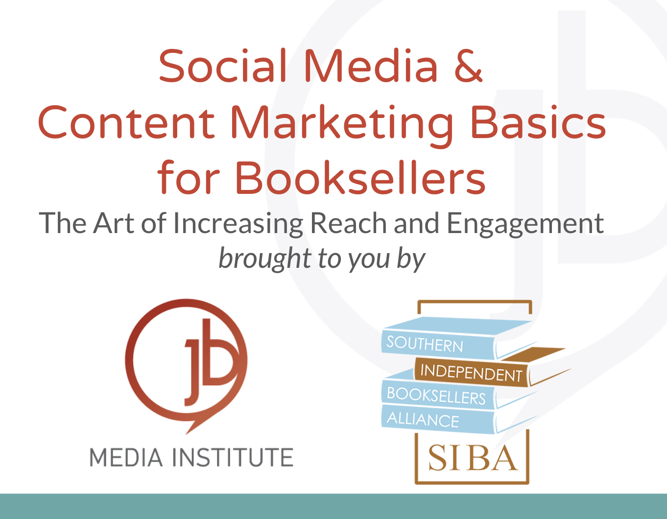 Social Media and Content Marketing Basics for Booksellers