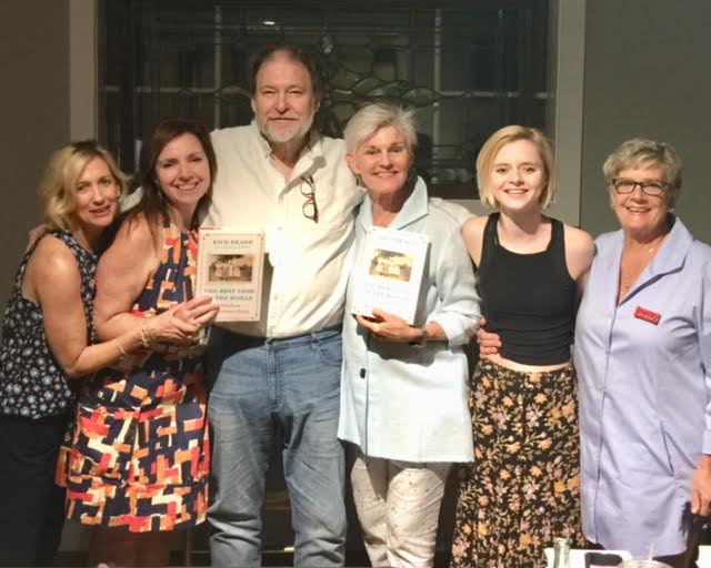 Rick Bragg with the Page   & Palette staff