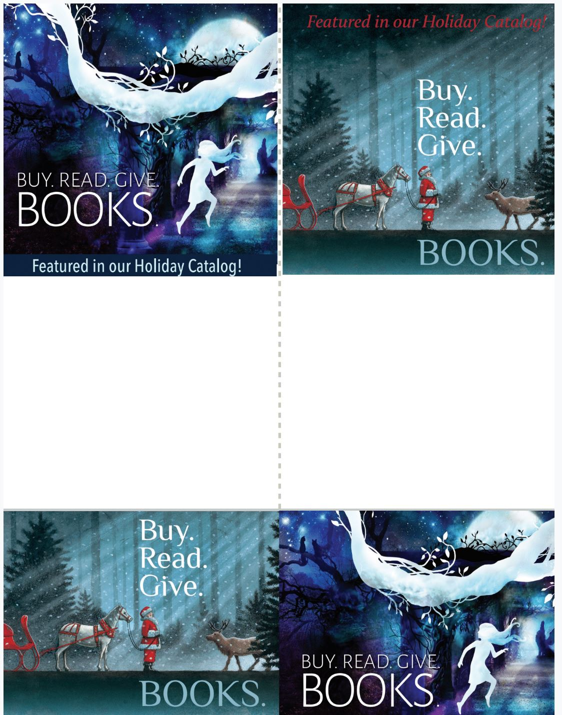 Holiday Catalog Slim Card
