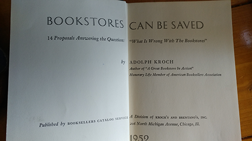 Bookstores Can Be Saved