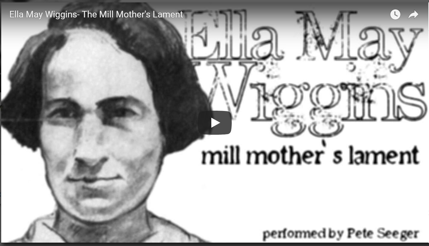 Mill Mother's Lament