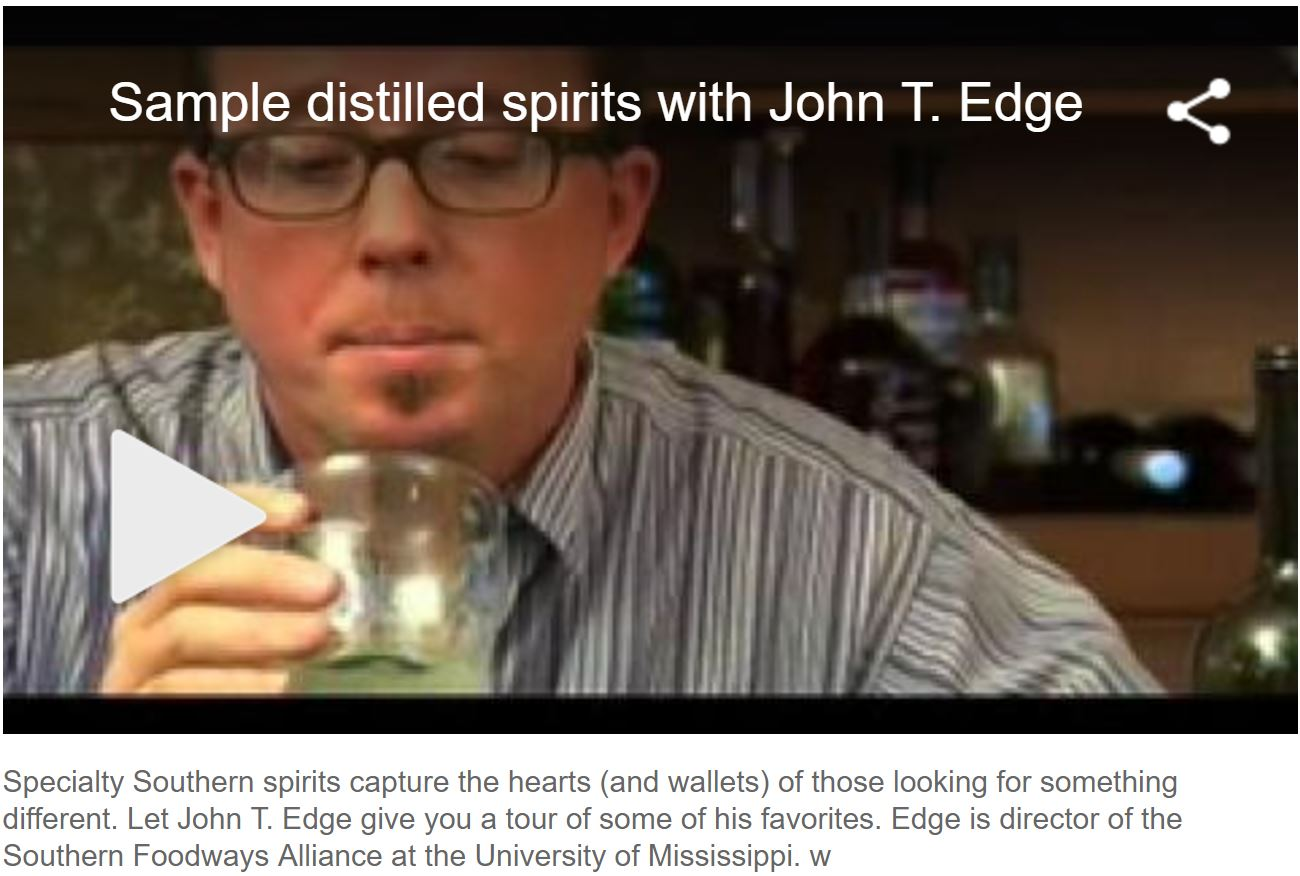 Sample Distilled Spirits with John T. Edge