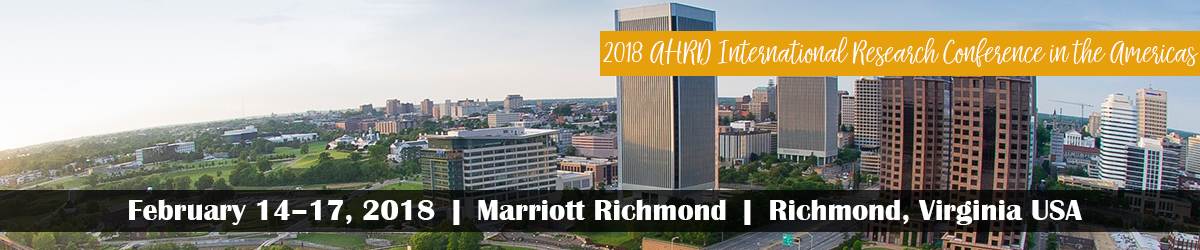 2018 AHRD International Research Conference in the Americas