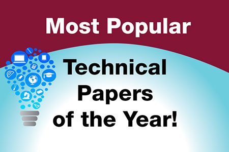 Most Popular Technical Papers of the Year!