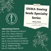 Sowing Seeds Specialty Series: Radiology