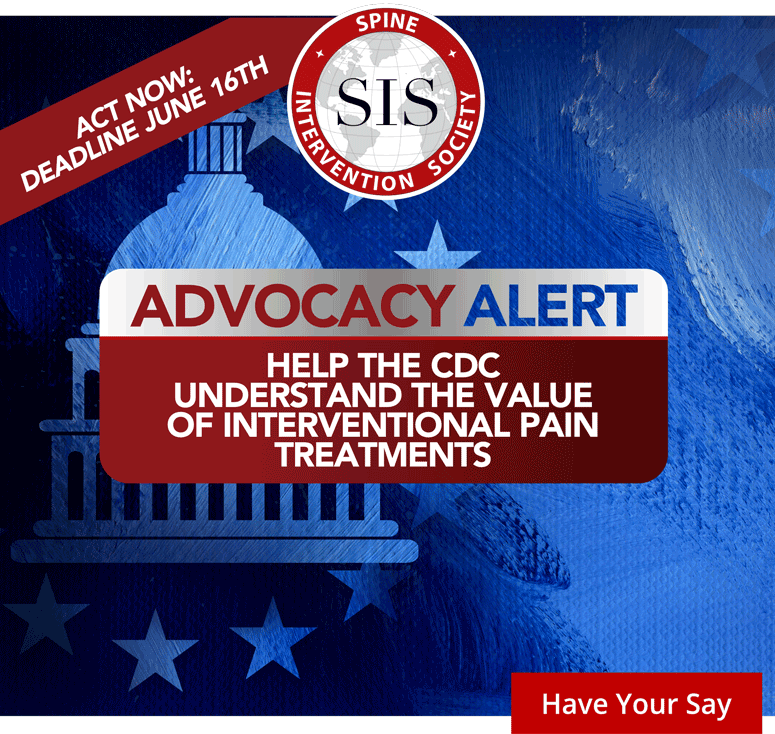 Help the CDC Understand the Value of Interventional Pain Treatments