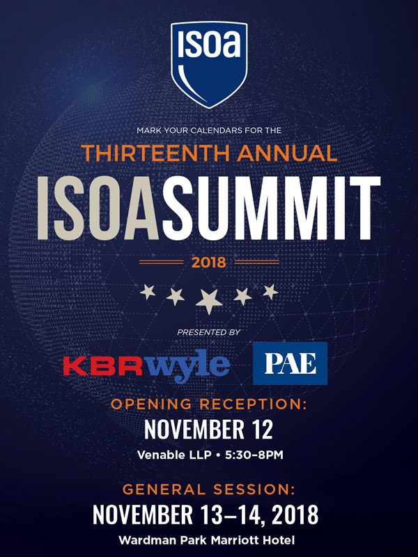 2018 ISOA Summit