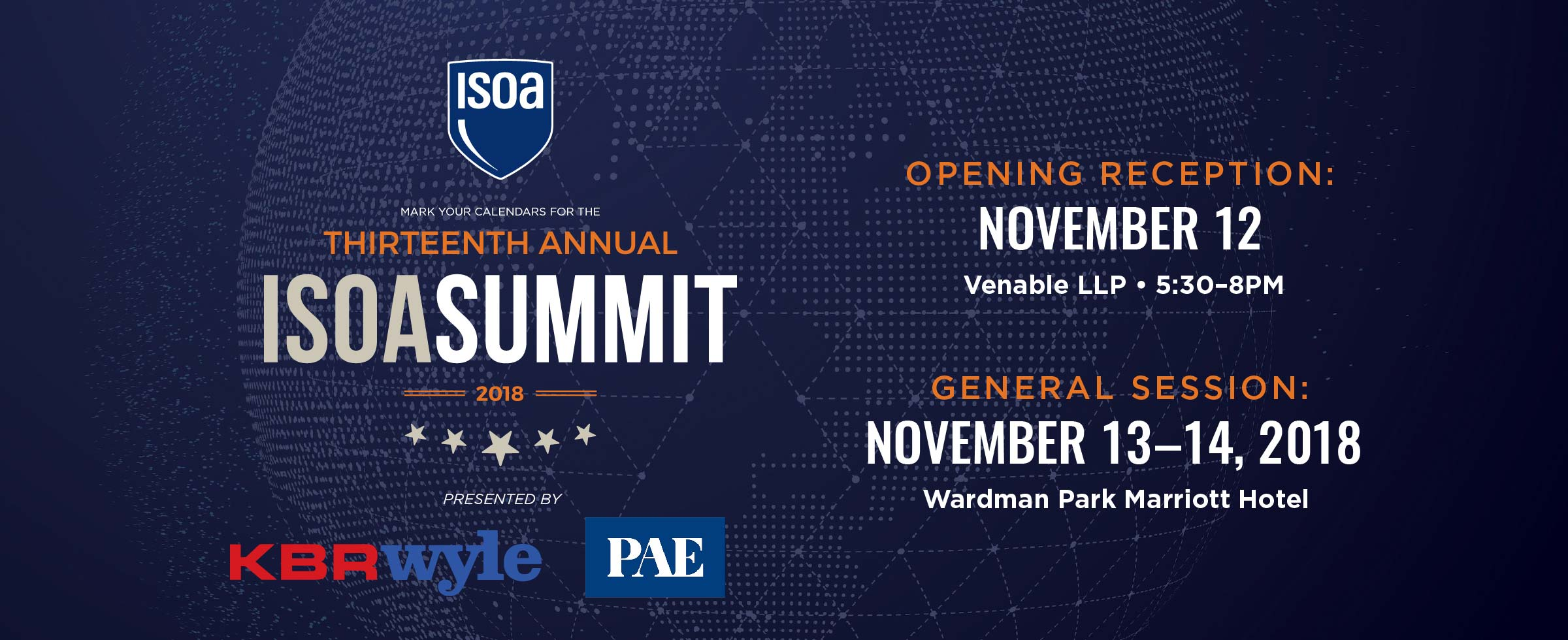 2018 ISOA Summit