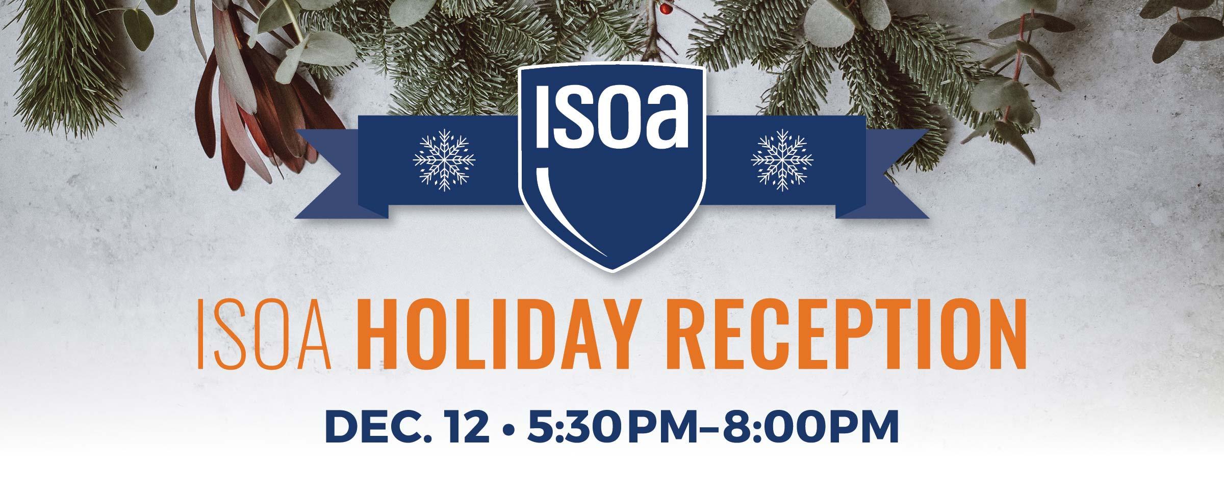 2018 ISOA Holiday Reception