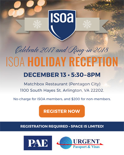 ISOA Holiday Reception 2017