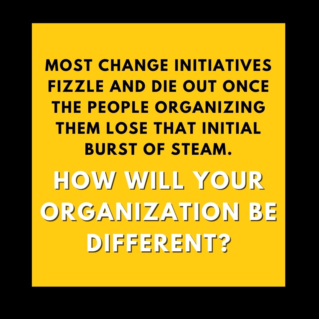 How will your organization be different?