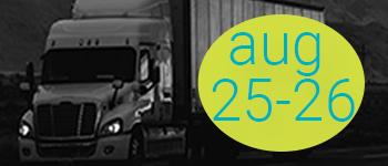 Trucking August 25-26
