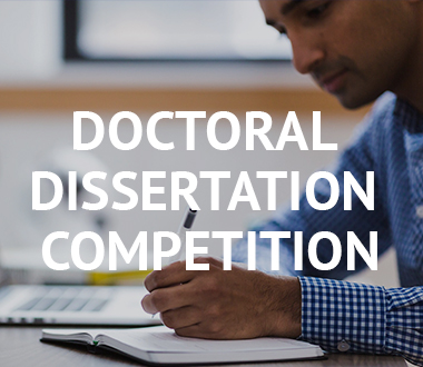 Doctoral Dissertation Proposal Competition