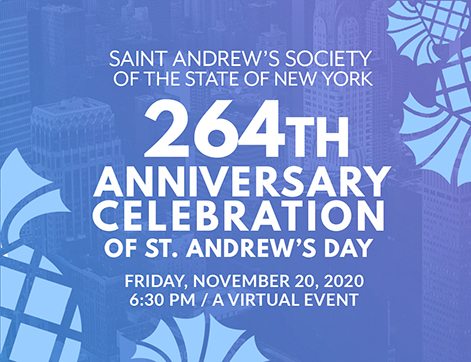 264th Anniversary Celebration of Saint Andrew's Society of the State of NY