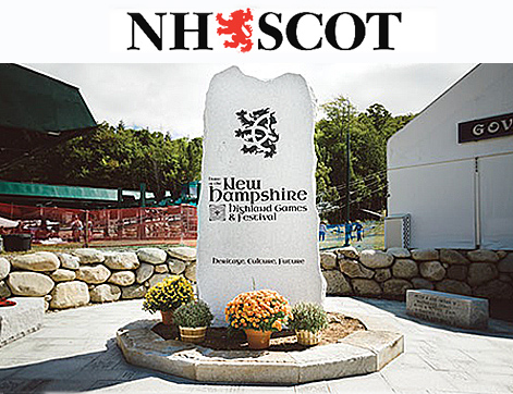 NH Scots standing stone