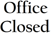 SWON Libraries Office Closed