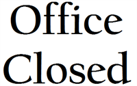 SWON Office Closed