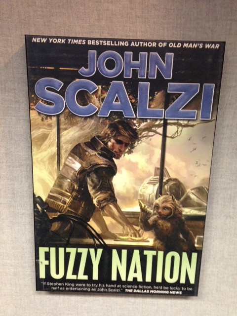 Image of cover of John Scalzi novel