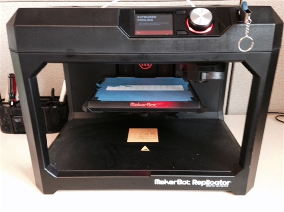 3D Printer in the McDonald Library