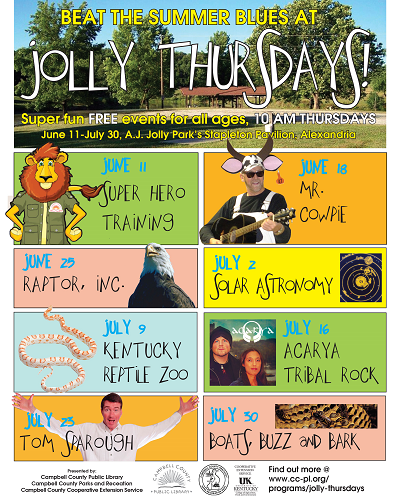 Summer programs at Jolly park image