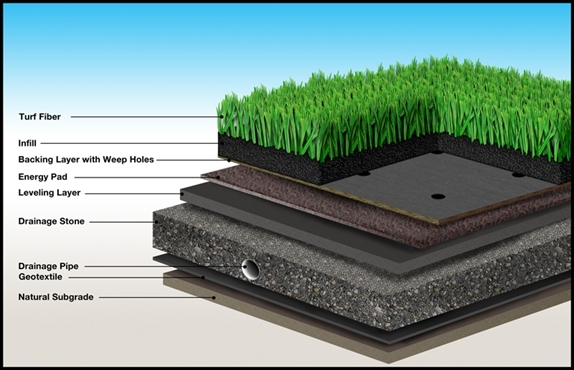 Turf Cross-Section