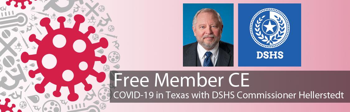Free Member CE: COVID-19 in Texas
